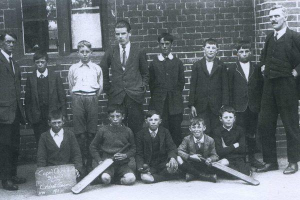 Capel School Cricket Team 1921