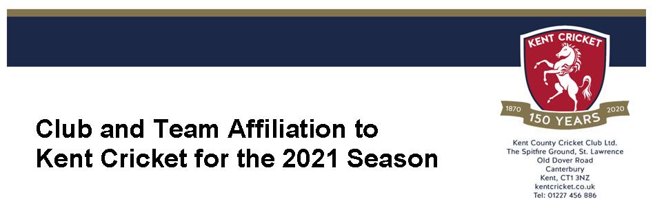Kent Affiliation 2021